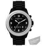 Smartwatch MYKRONOZ ZeClock Swarovsky, Black