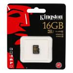Card de memorie microSDHC 16GB KINGSTON Clasa 10, UHS-I R/90MB/s, W/45MB/s
