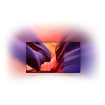 Televizor LED Smart Ultra HD, Android, Ambilight, 164cm, PHILIPS 65PUS8901/12