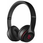 Casti on-ear cu microfon Beats by Dr. Dre Solo 2, Wireless, negru