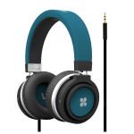 Casti Bluetooth on-ear cu microfon PROMATE Boom, Blue