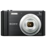 Camera foto digitala SONY DSC-W800B, 20 Mp, 5x, negru