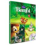 Pachet carte & audiobook & film - Bambi DVD