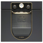 Cuptor incorporabil BOSCH HBA23BN61, electric, 62l, 2480W, A, negru