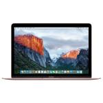 """Laptop APPLE MacBook 12"""" Retina Display mmgl2ze/a, Intel® Core™ m3 pana la 2.2GHz, 8GB, 256GB, Intel HD Graphics 515, OS X El Capitan, Rose Gold - Tastatura layout INT"""