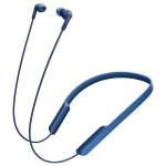 Casti in-ear cu microfon Sony MDR-XB70BTL, Wireless, Bluetooth, NFC, EXTRA BASS, Albastru