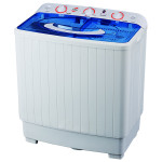 Masina de spalat rufe semiautomata MYRIA MYR60, spalare 6Kg, stoarcere 5.3Kg, alb