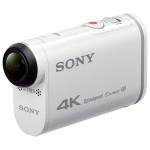 Camera video sport SONY ACTION CAM 4K X1000V, Stabilizare SteadyShot, Wi-Fi, GPS + kit pentru telecomanda cu vizualizare in timp real