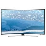 Televizor curbat LED Smart Ultra HD, 163cm, SAMSUNG UE65KU6172U