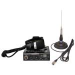 Kit Statie radio CB Midland Alan 100 + Antena PNI ML100/ ML145
