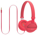 Casti on-ear PROMATE Sonic, Red