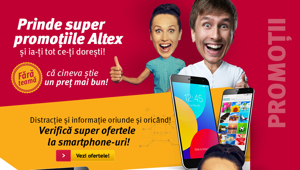 Promotii Curente Altex Smartphone