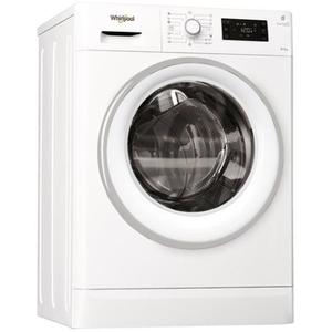 Masina de spalat rufe cu uscator WHIRLPOOL FWDG97168WSEU, 6th sense, 9/7kg, 1600rpm, A, alb
