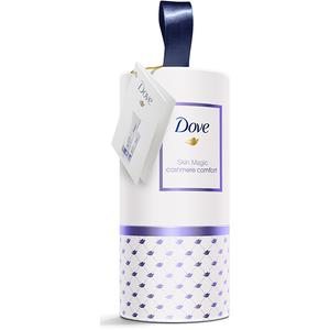 Set cadou DOVE Skin Magic Cashmere Comfort: Lotiune de corp Cashmere Comfort, 200ml + Crema de maini Cashmere Comfort, 75ml
