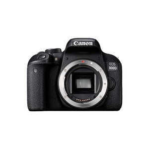 Camera foto digitala CANON EOS800D, 24.2 Mp, Body, Wi-Fi, negru