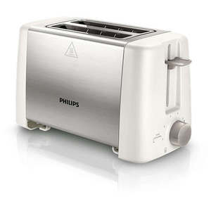 Prajitor de paine PHILIPS Daily Collection HD4825/00, 800W, alb - argintiu