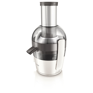 Storcator fructe si legume PHILIPS Viva Collection HR1855/80, 0.8l, 700W, 1 treapta putere, alb - gri