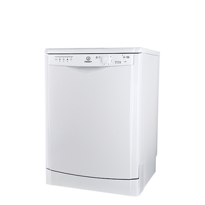 Masina de spalat vase independenta INDESIT DFG15B10, 13 seturi, 5 programe, 60 cm, clasa A+, alb