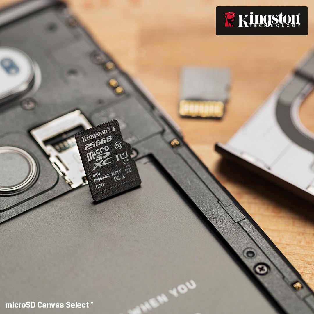 Card de memorie KINGSTON Canvas Select microSDHC 32GB, clasa