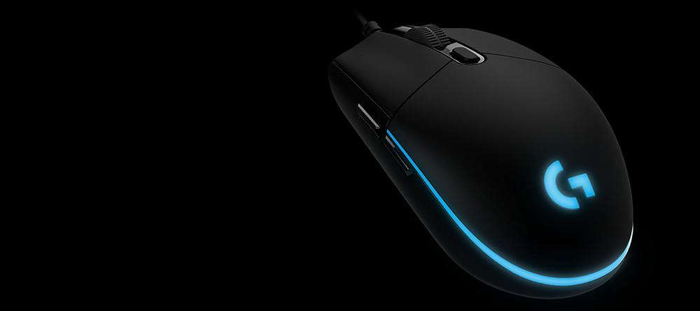 Mouse Gaming LOGITECH G Pro HERO, 16000 dpi, negru