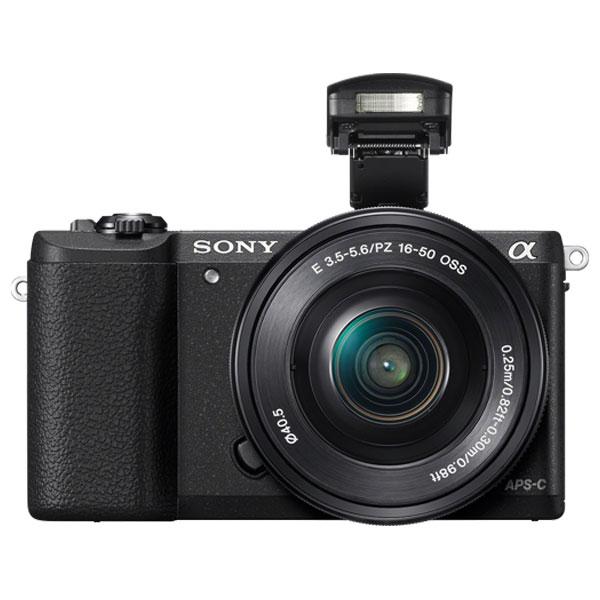 Camera Foto Digitala Mirrorless Sony Alpha A5100 Cu Obiectiv 16-50mm, 24mp, 3 Inch, Negru