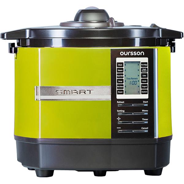 Multicooker Oursson Versatility Mp5005psd/ga, 1200w, 5l, 45 De Programe, Verde
