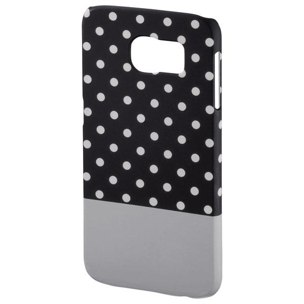 Carcasa de protectie pentru Samsung S6 HAMA Lovely Dots 138232 BlackGrey