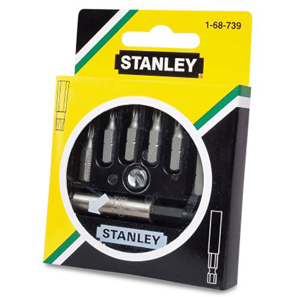 Set 6 biti cu adaptor STANLEY 168739