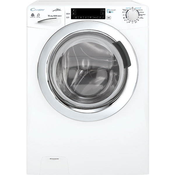 Masina De Spalat Cu Uscator Candy Gvfw 4106lwh, 10kg Spalare, 6kg Uscare, 1400 Rpm, A+++, Alb