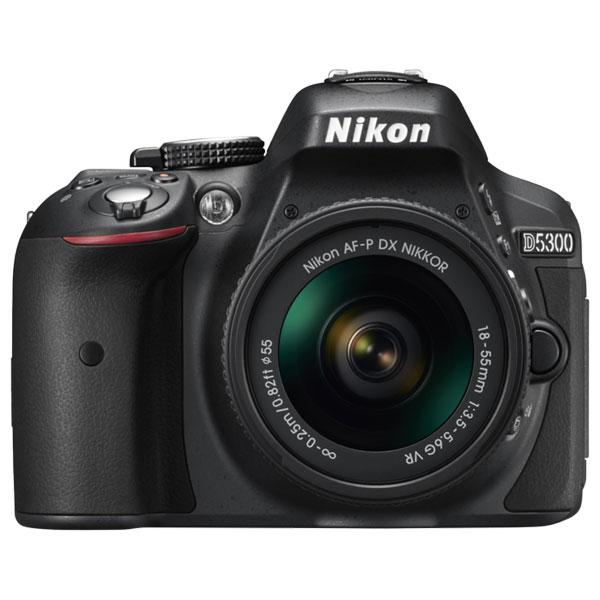Camera Foto Dslr Nikon D5300  + Obiectiv Af-p 18-55mm  Vr