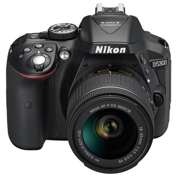 Camera foto dslr nikon d5300 obiectiv af p 18 55mm vr - Foto in camera ...