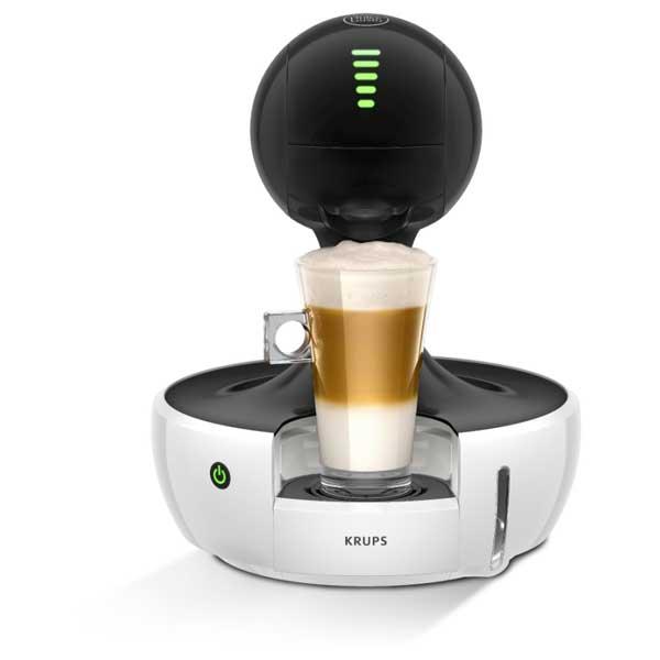 Espressor Krups Nescafe Dolce Gusto Drop Kp3501, 0.8l, 15 Bar, Negru-alb
