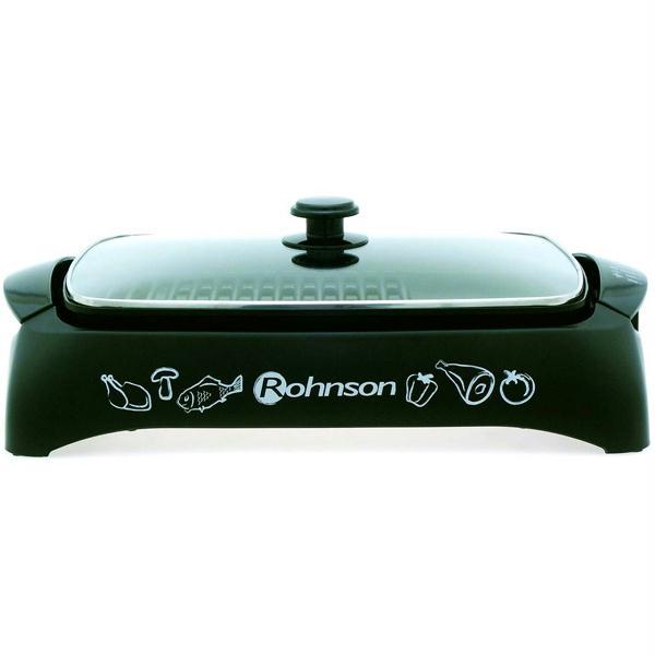 Gratar ROHNSON R250 tava antiadeziva legume 2000W negru