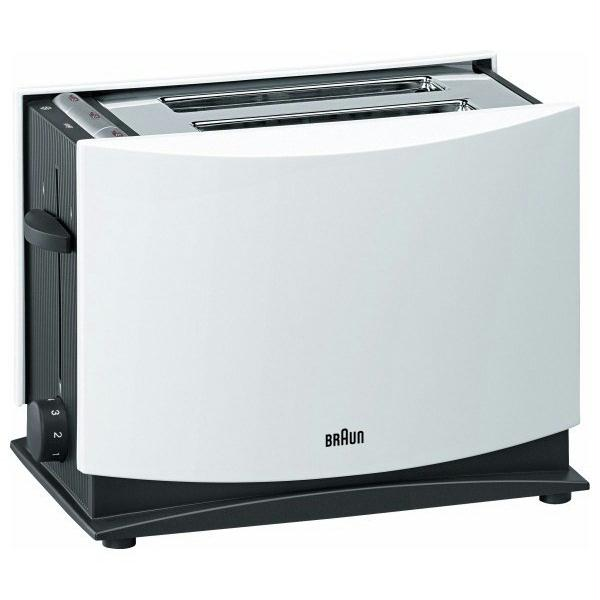 Prajitor de paine BRAUN MultiToast HT400 1000W alb