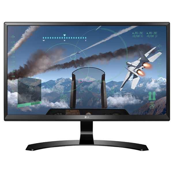 "Monitor Gaming Ips Lg 24ud58-b, 23.8"", 4k Uhd, Negru"