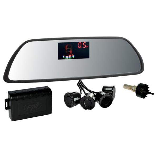 Senzori parcare cu afisaj in oglinda PNI P03