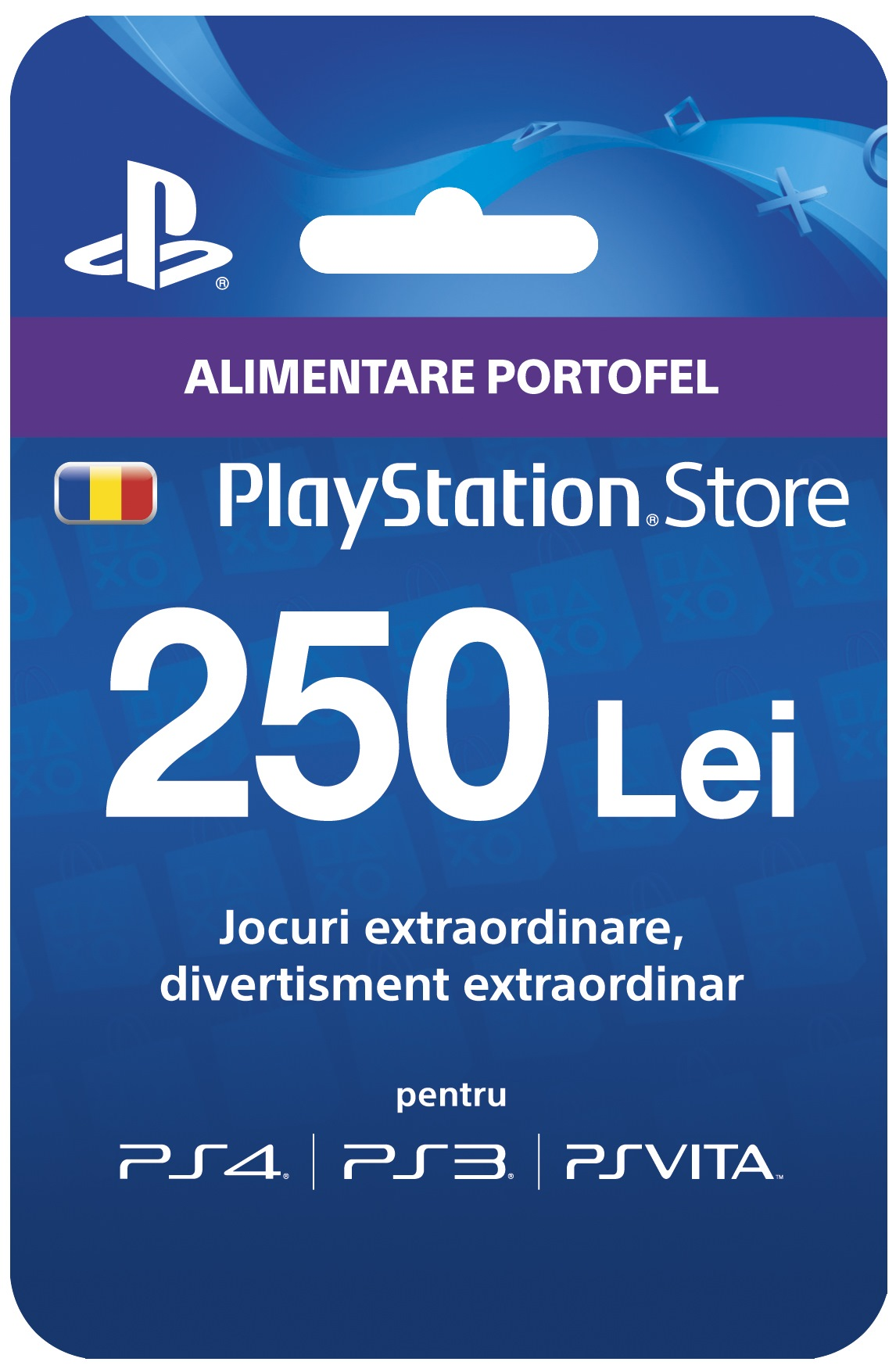 Ps Plus Network Cards Playstation Card 50 Digital Code 250lei Psn Cont Ro