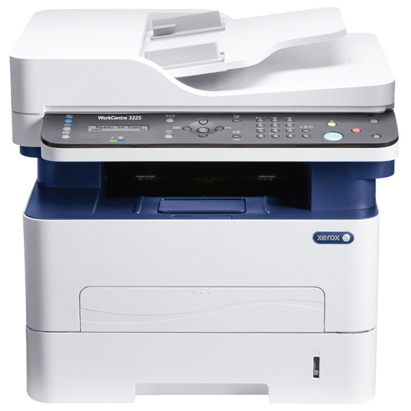 Multifunctional Laser Monocrom Xerox Workcentre 3225dni, A4, Usb, Retea, Wi-fi