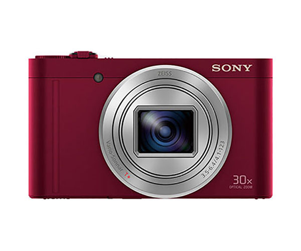 Camera Foto Digitala Cyber-shot Sony Dsc-wx500r, High Zoom, 30x Zoom Optic, 18.2 Mp, 3 Inch, Rosu