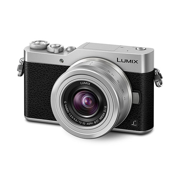 Camera Foto Mirrorless Panasonic Dcm-gx800, 16mp, 3 Inch + Obiectiv 12-32mm, Silver