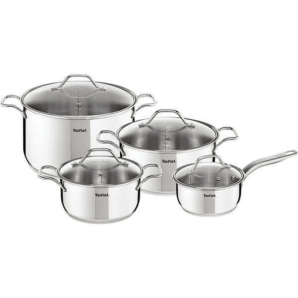 Set 8 Piese Tefal Intuition A702s885, Inox