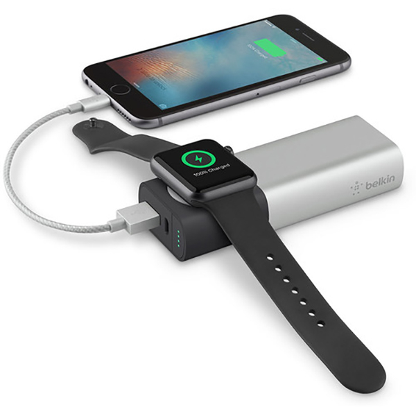 Baterie Externa Belkin Pentru Apple Watch + Iphone, 6700mah