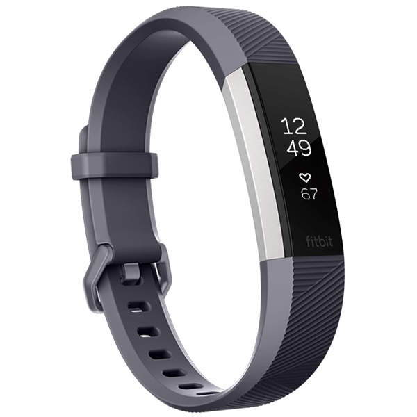 Bratara Fitness Fitbit Alta Hr, Large, Gray