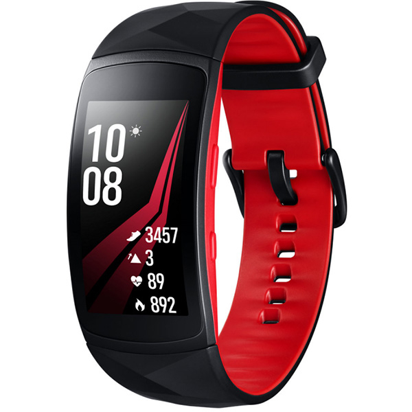 Bratara Fitness Samsung Gear Fit 2 Pro, Small, Red