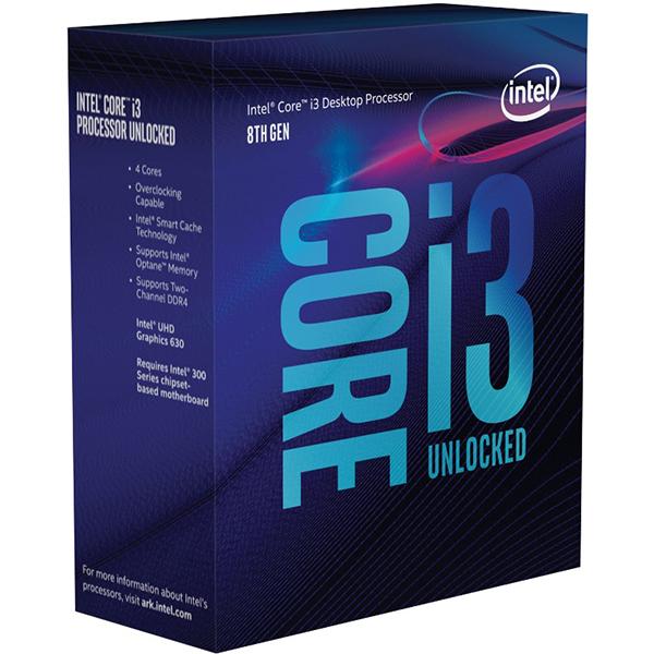 Procesor Intel® Core™ I3-8350k, 4.0ghz, 8mb, Bx80684i38350k