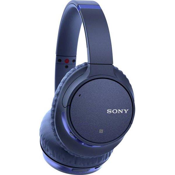 Casti On-ear Cu Microfon Sony Whch700nl, Noise Cancelling, Bluetooth, Nfc, Wireless, Google Assistant,  Albastru