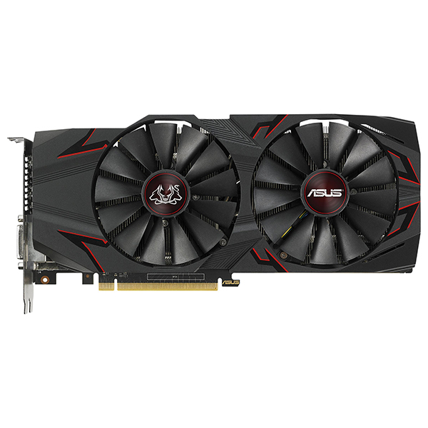 Placa Video Asus Nvidia Geforce Gtx 1070 Ti, 8gb Gddr5, 256-bit, Cerberus-gtx1070ti-a8g