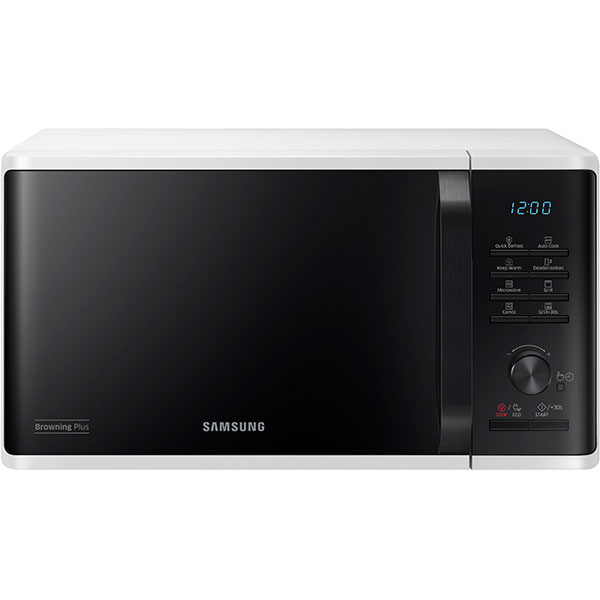 Cuptor Cu Microunde Samsung Mg23k3515aw/ol, 23l, 800w, Ecomode, Alb