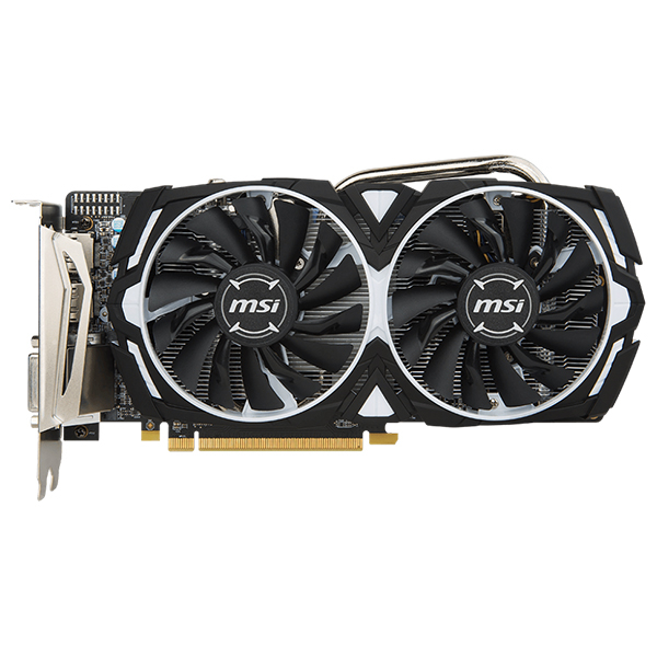 Placa Video Msi Amd Radeon Rx 570 Armor 8g Oc, 8gb Gddr5, 256bit, Rx 570 Armor 8g Oc