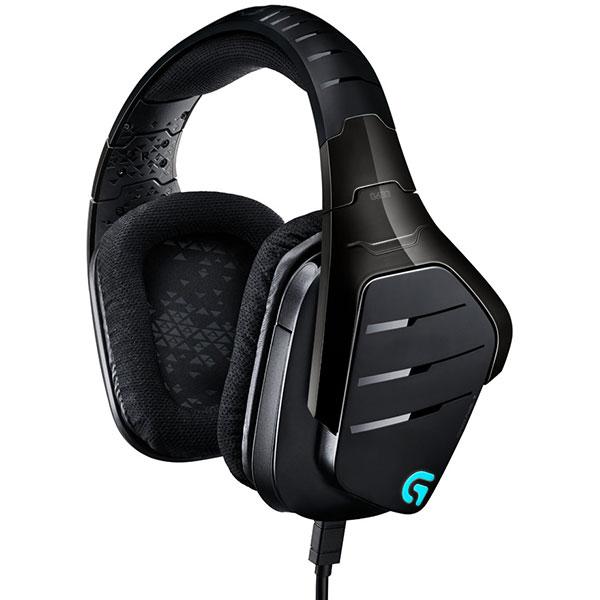Casti Gaming Logitech G633 Artemis Spectrum 7.1 Rgb, Negru